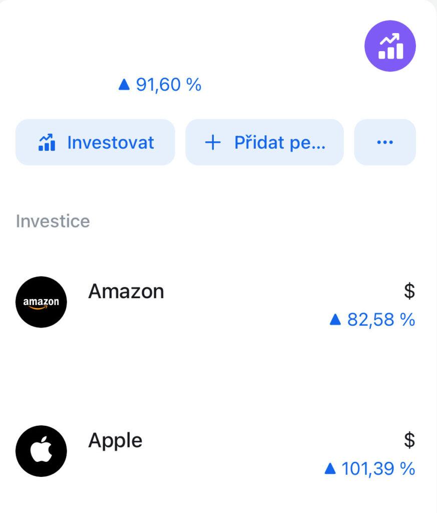 Revolut - zhodnocení investic o stovky %