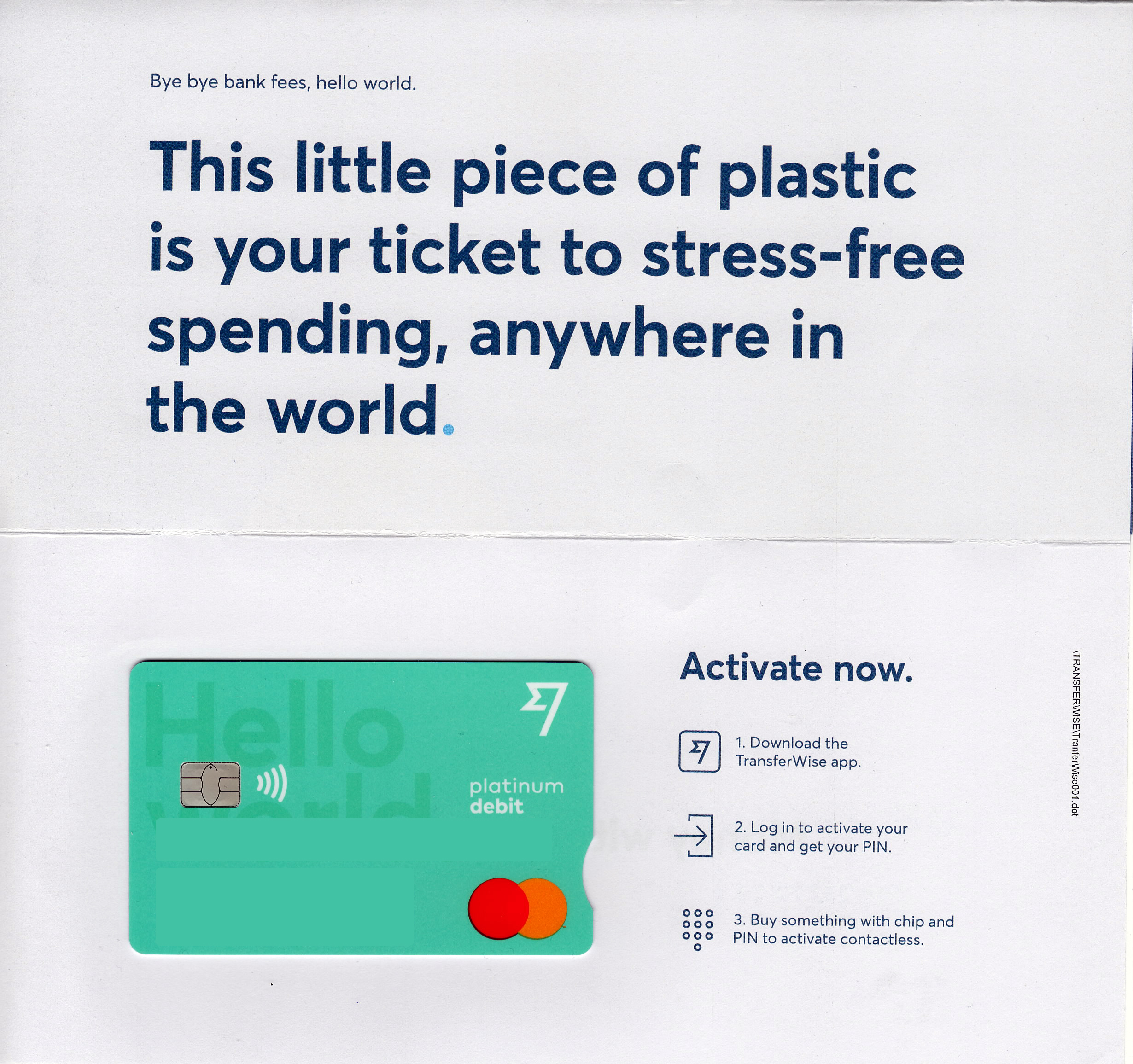 Wise MasterCard