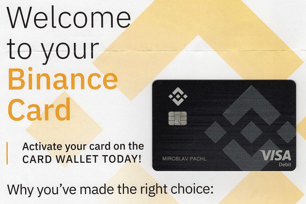 Binance Visa Crypto Card